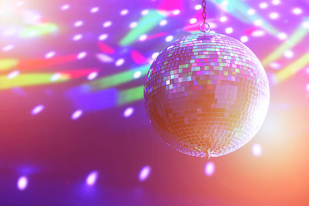 ball - disco dancing stock photos and pictures