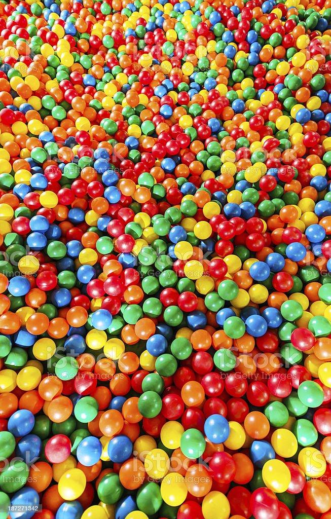 Ball pool. stock photo