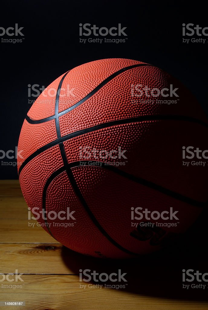 ball to the basketbal royalty-free stock photo