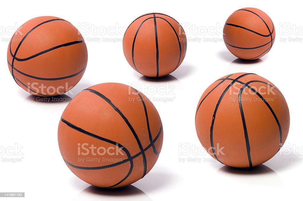 ball to the basket-ball stock photo