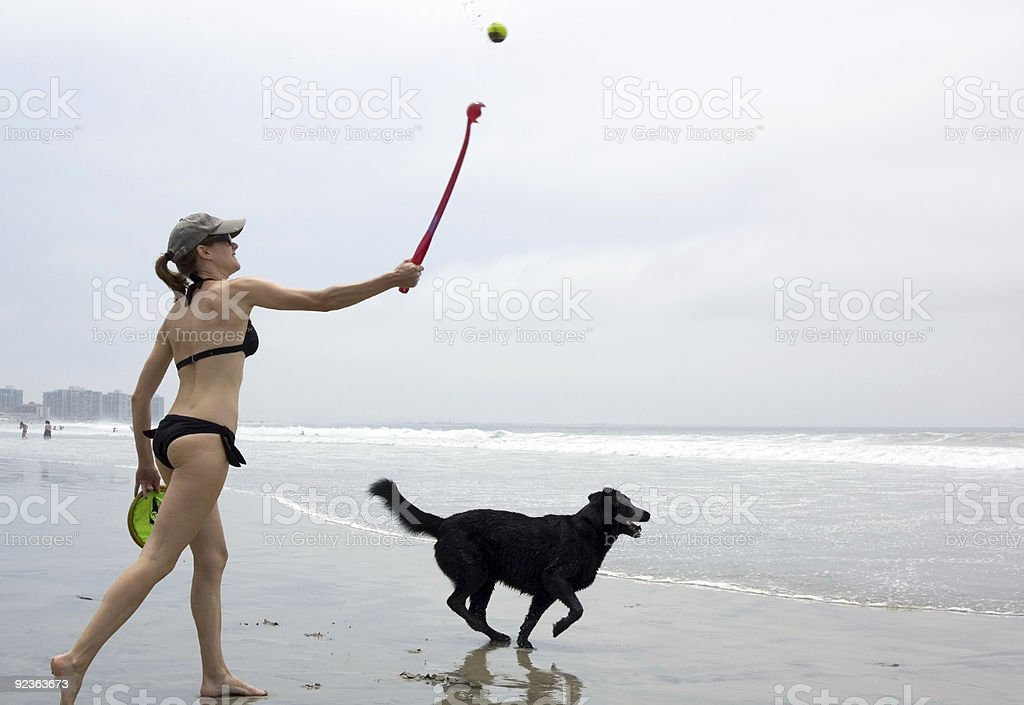 Ball Toss royalty-free stock photo