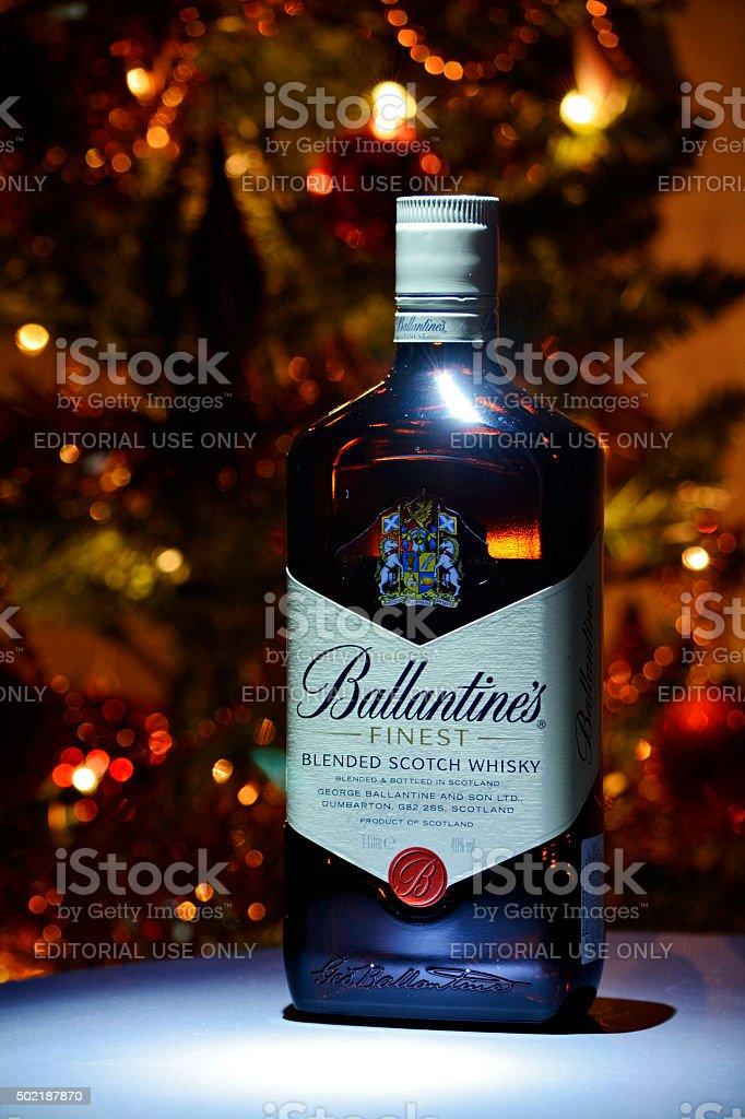 Ballantine's Christmas stock photo