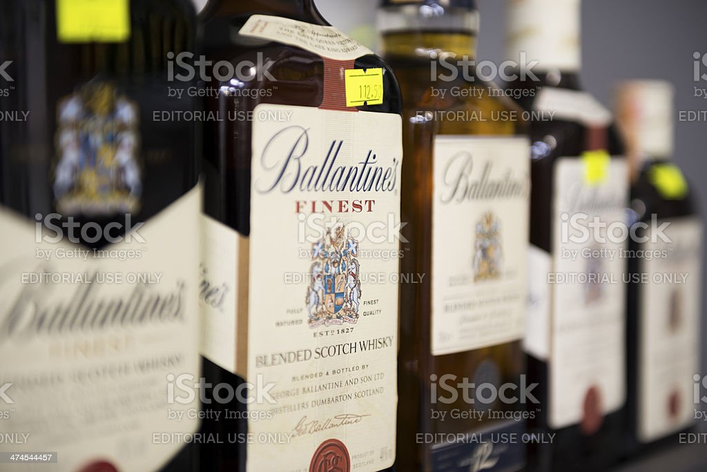 Ballantine's stock photo