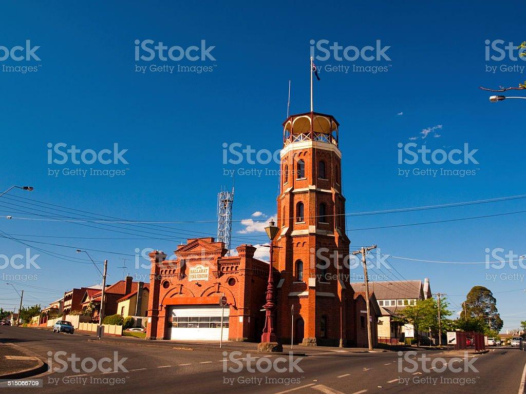 Ballarat East Fire Station stock photo