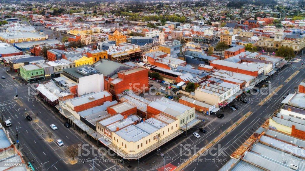 D Ballarat Skyless stock photo