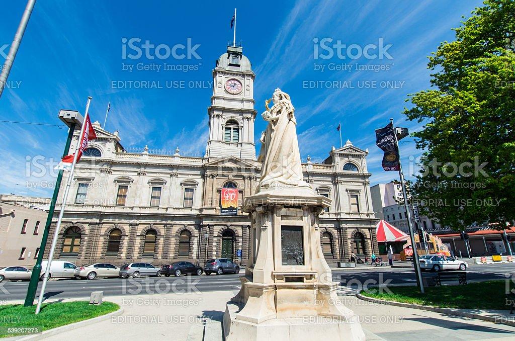 Ballarat Town Hall stock photo