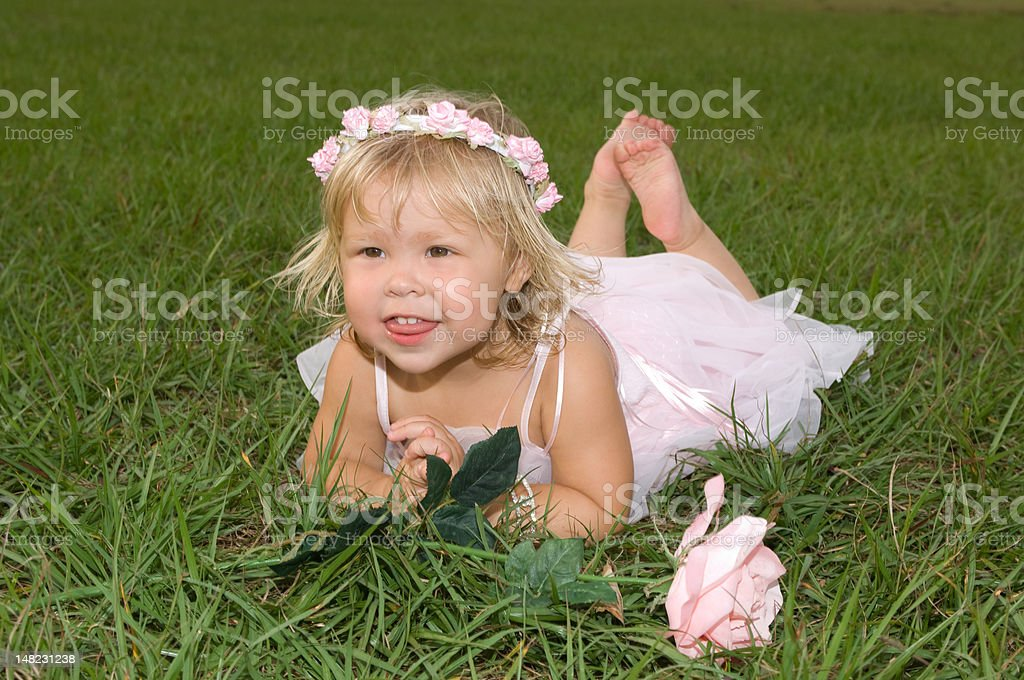 Ballerina Baby royalty-free stock photo