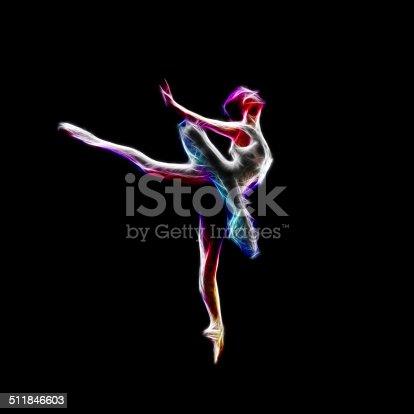 istock Ballerina dance concept 511846603