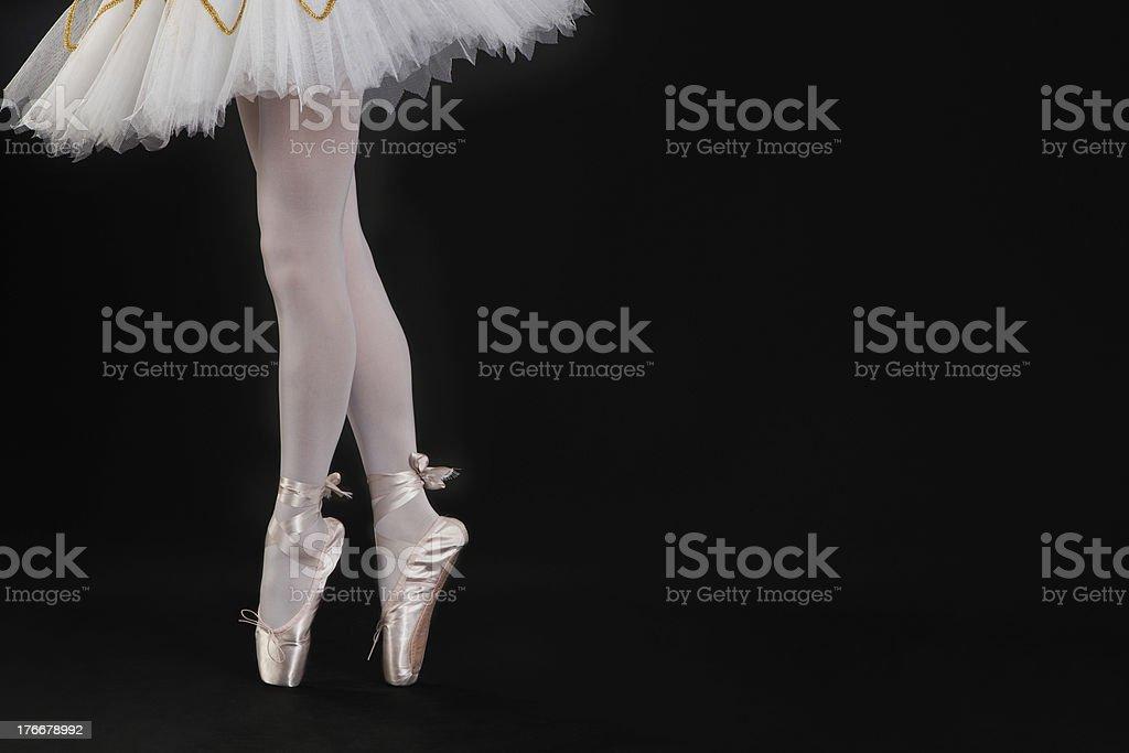 Ballerina Dancing royalty-free stock photo