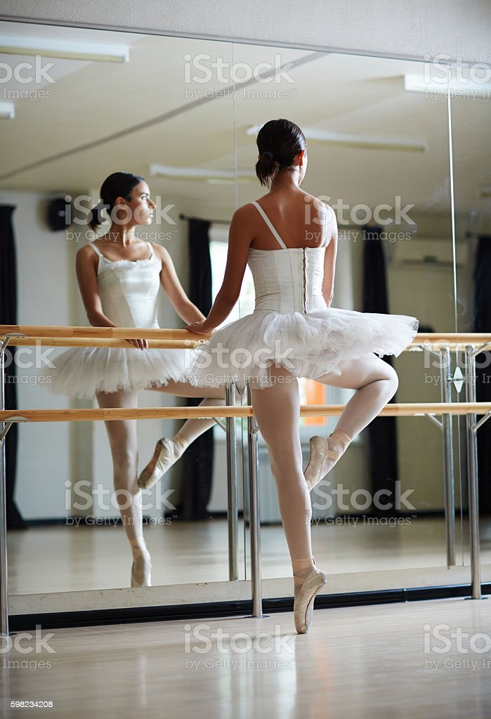 Bailarina dança foto royalty-free