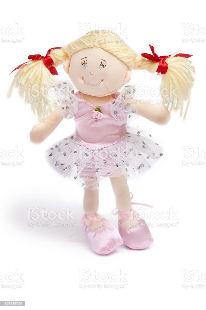 ballerina doll stock photo