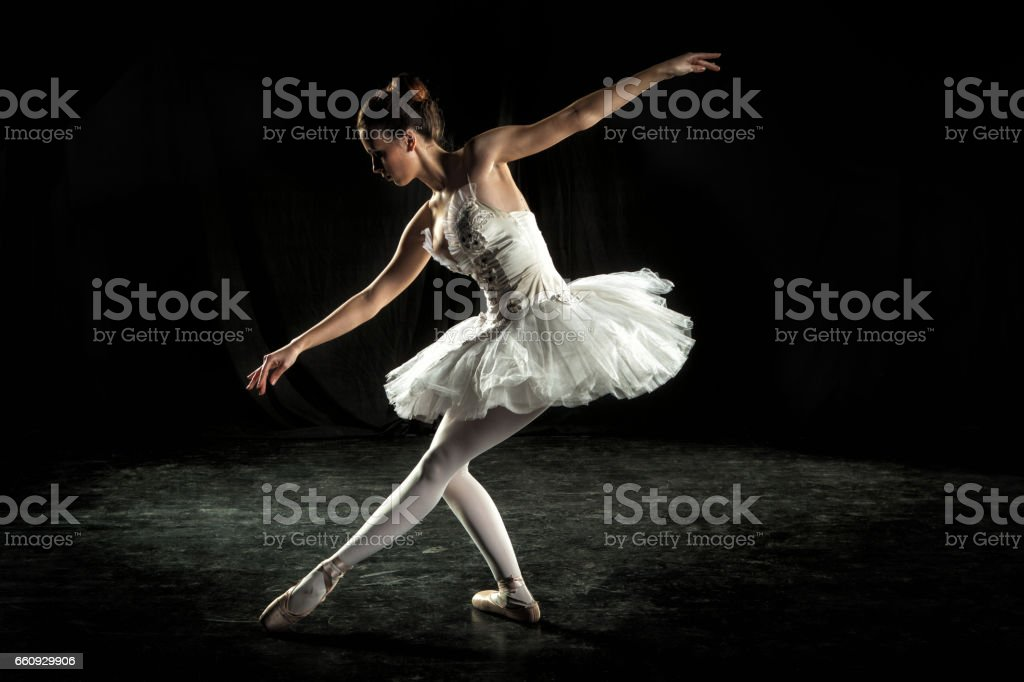 Ballerina on stage - Photo