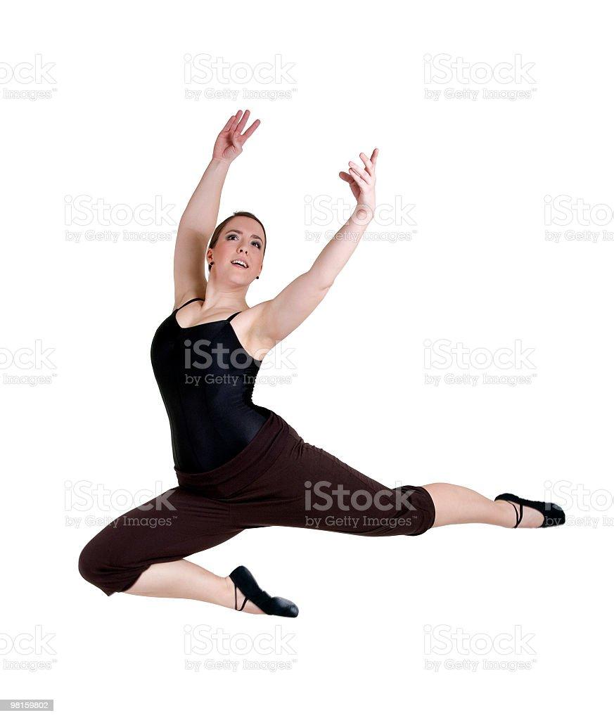 Ballerina performing royalty-free stock photo