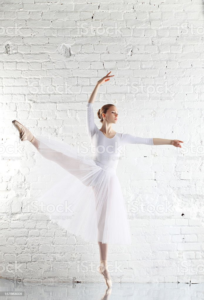 ballerina royalty-free stock photo