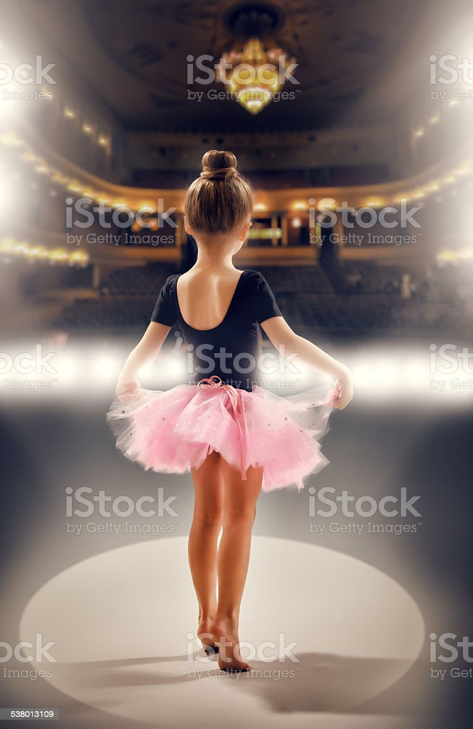 Bailarina - foto de acervo