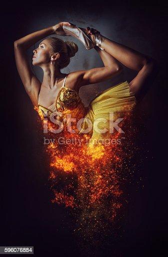 istock Ballerina 596076884