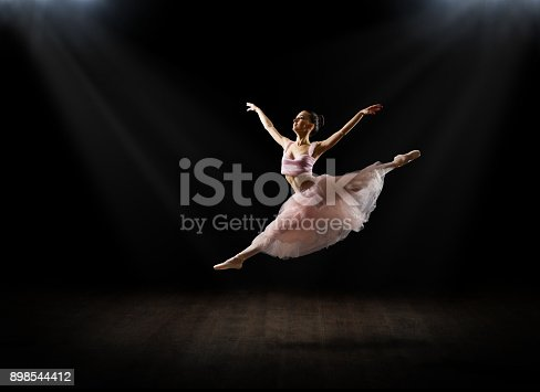 Young ballerina (in theatre version)