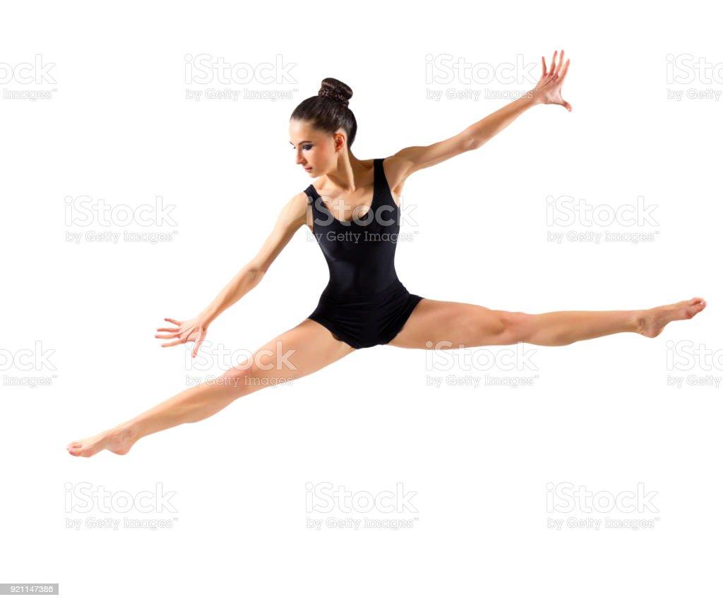 Ballerina (isolated version) stock photo