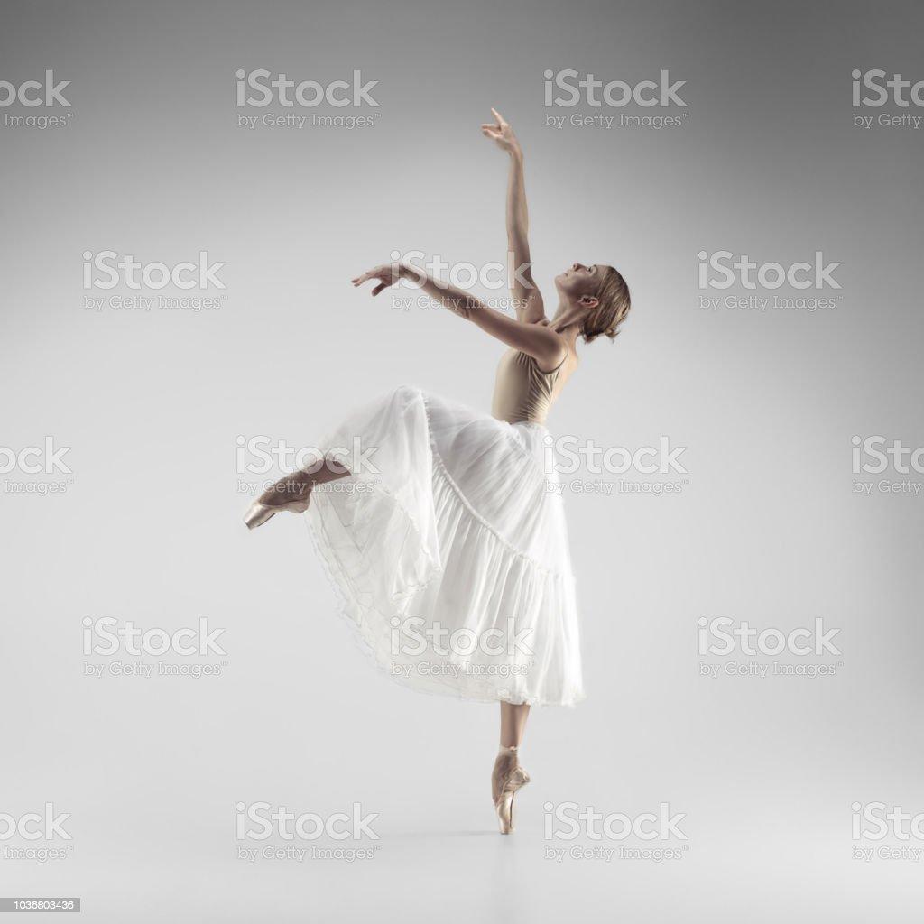 d020068d7 Ballerina Bailarín De Ballet Clásico Femenino Agraciado Joven ...