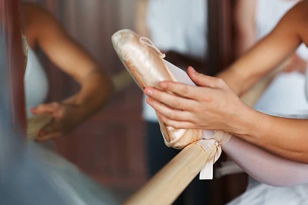 Ballerina's foot – Foto