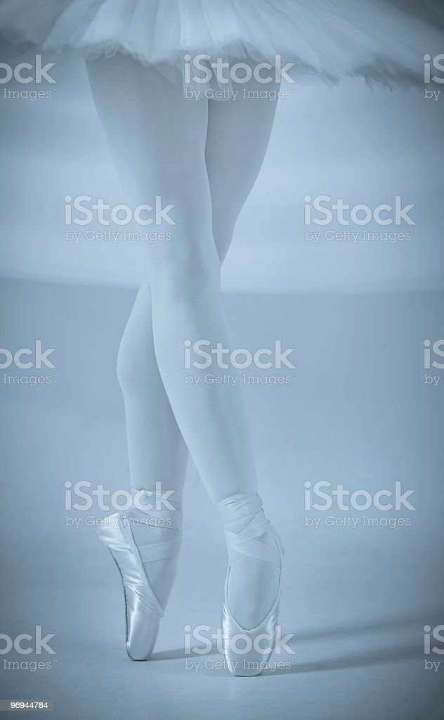 Ballerina's Legs royalty-free stock photo