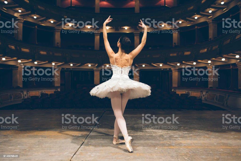 Balerin hayat stok fotoğrafı