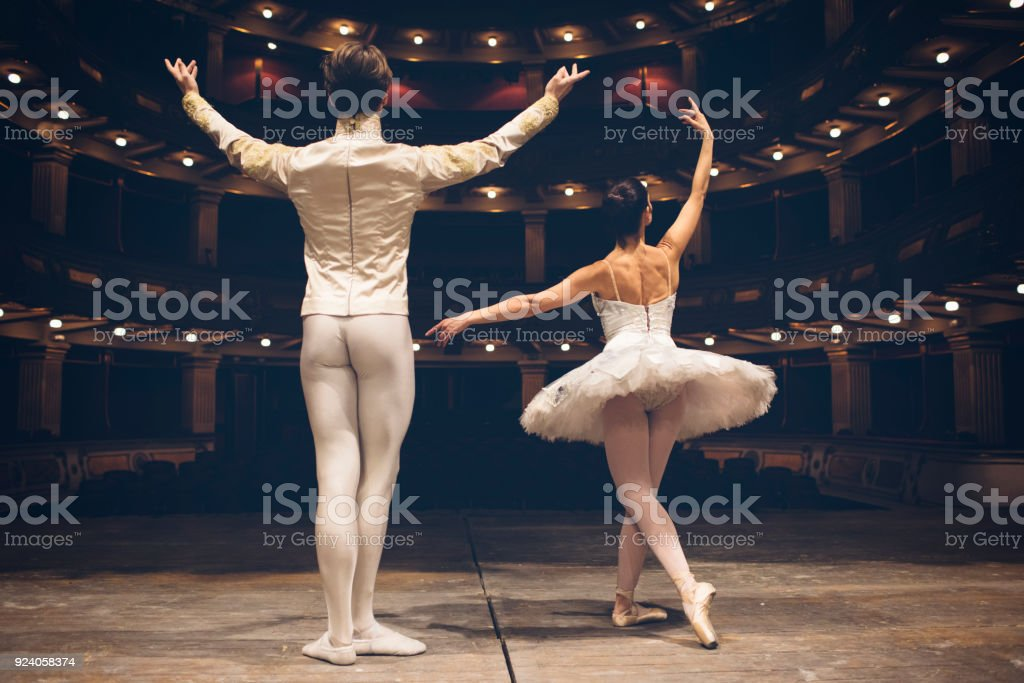 Ballerinas Life stock photo