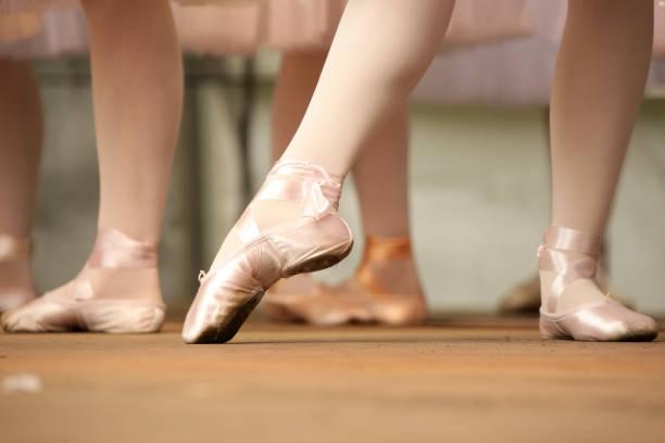 Ballerinas stock photo
