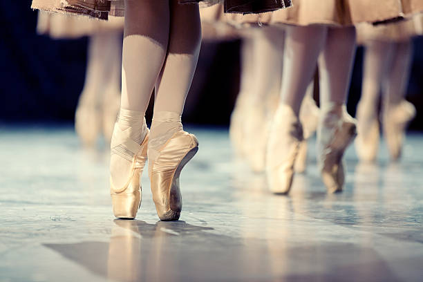 Ballerinas stock photo
