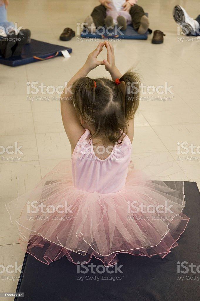 Ballet Class 1 royalty-free stock photo