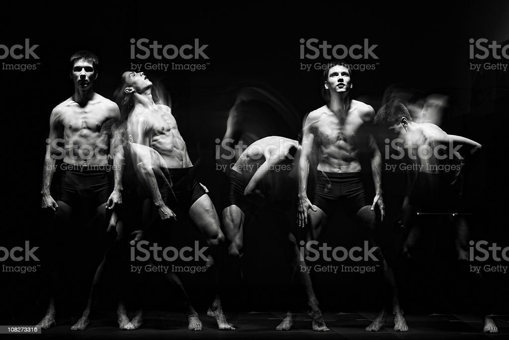 Ballet dancer. royalty-free stock photo