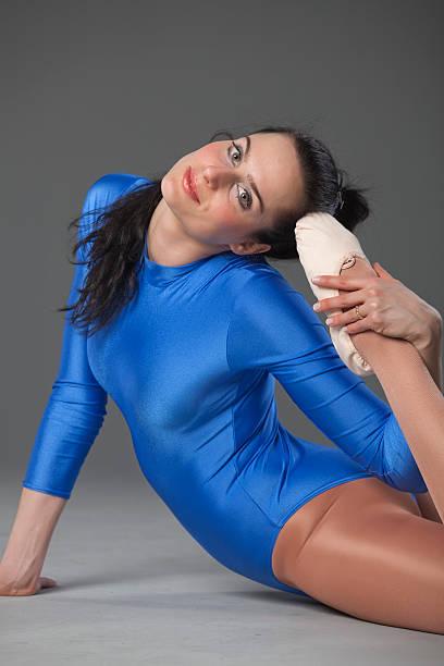 ballet dancer - leotard stock photos and pictures