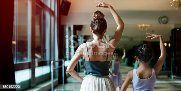 istock Ballet Dancer Training School Concept 660152220