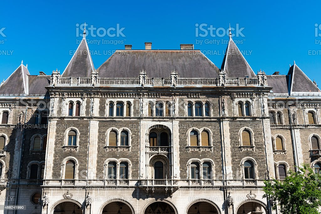 Ballet Institute or Drechsler Palace in Budapest stock photo