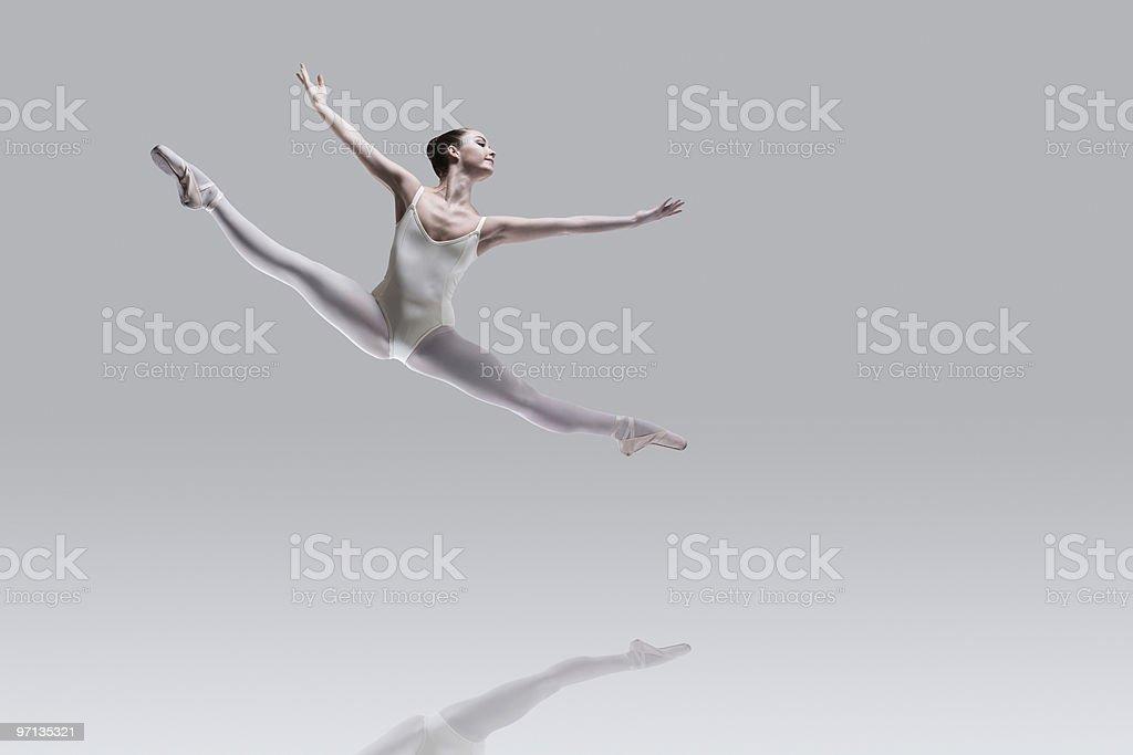 Ballet perfection stock photo