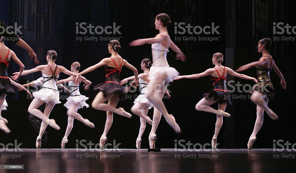 ballet bildbanksfoto