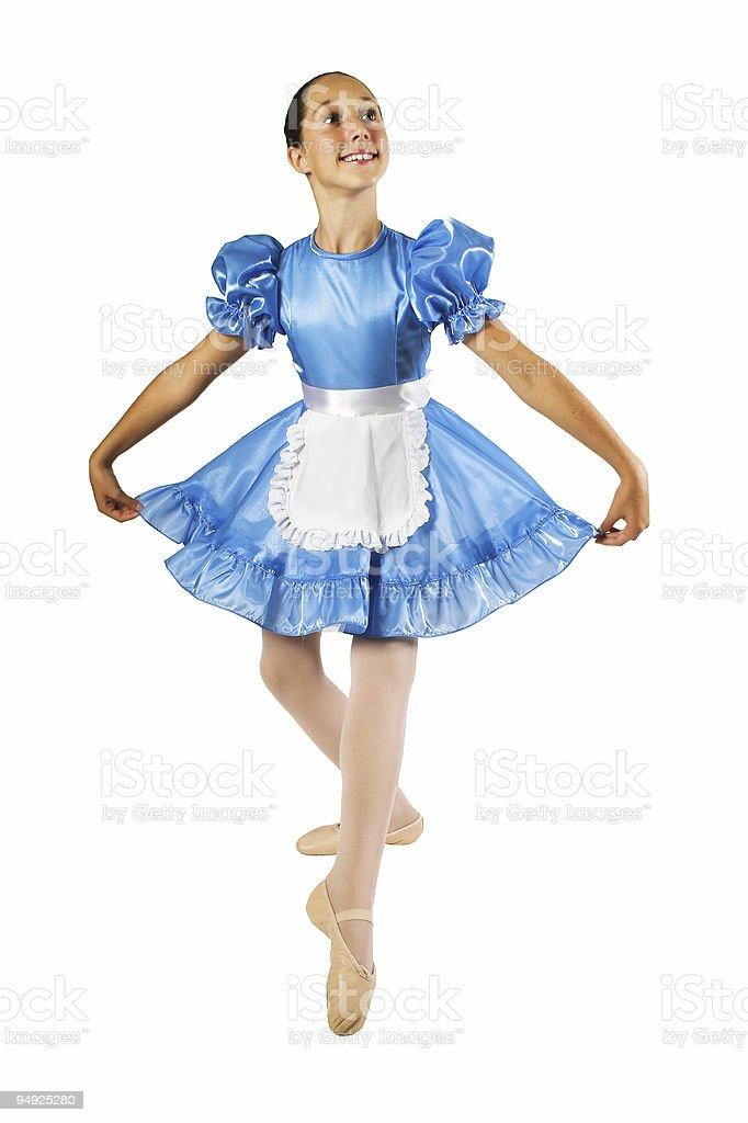 Ballet Pose royalty-free stock photo