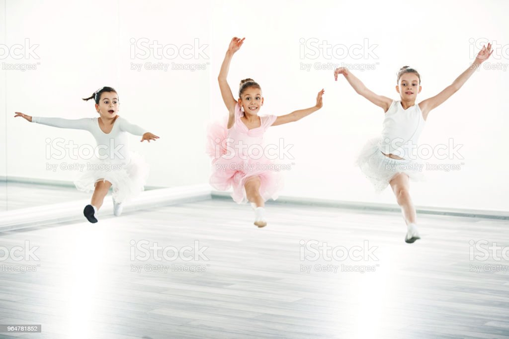 Ballet practice. royalty-free stock photo