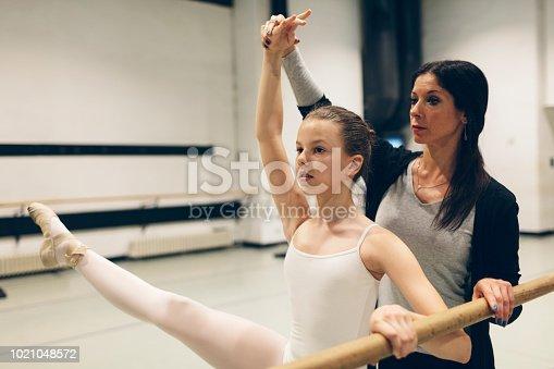 1160198096 istock photo Ballet School for Kids 1021048572