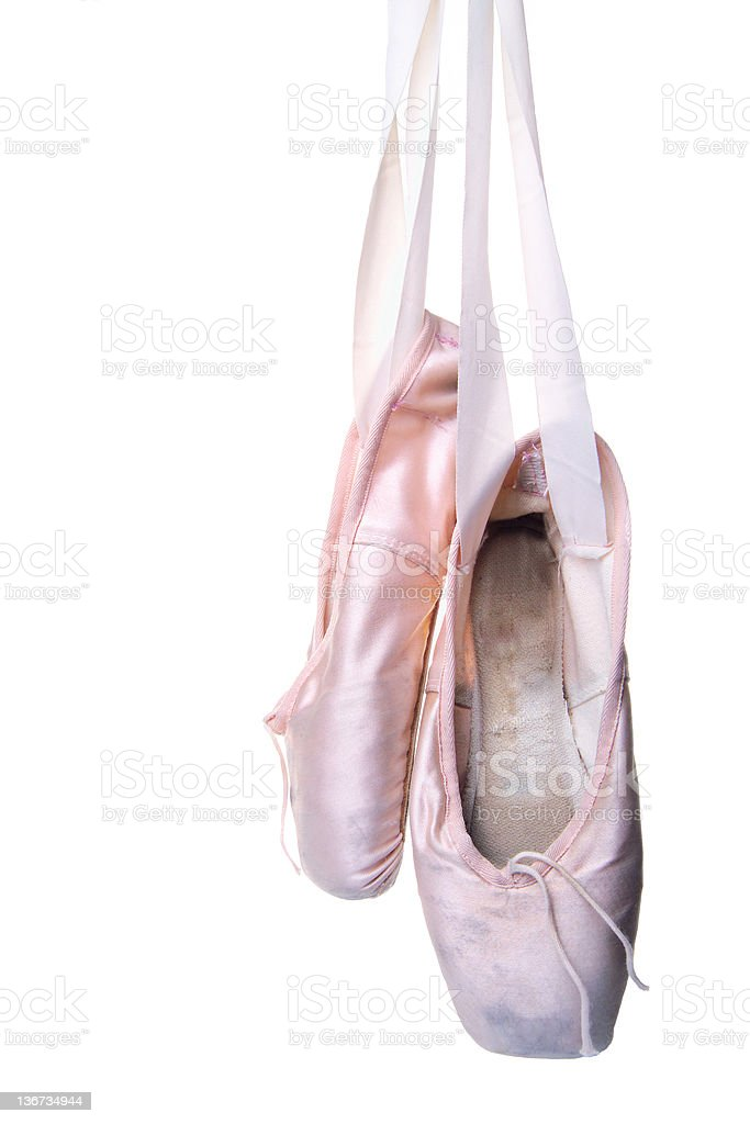 ballet slippers royalty-free stock photo