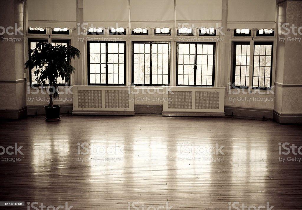Ballet Studio, Old Building stock photo