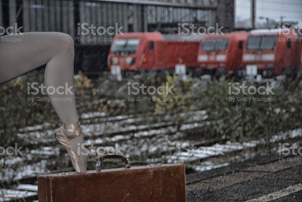 Ballett auf der Station in Deutschland – Foto