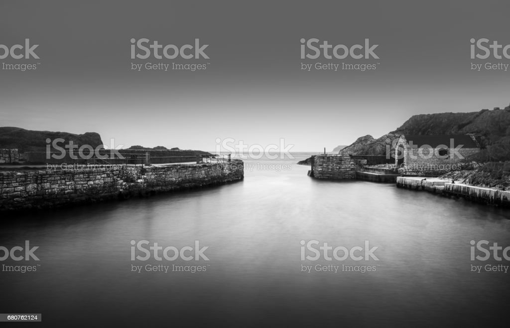 Ballintoy Harbour 24-04-2017 stock photo