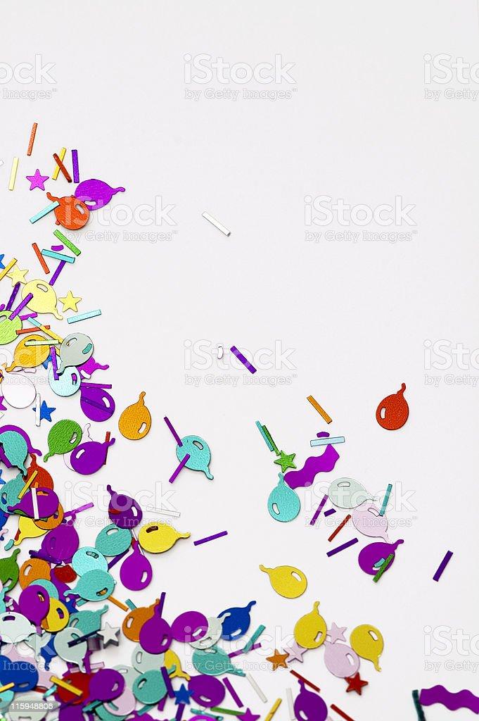 Ballon Confetti royalty-free stock photo