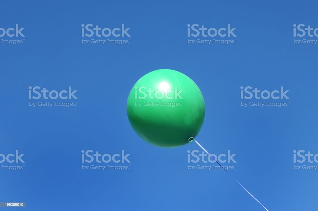 Balloon Afloat stock photo