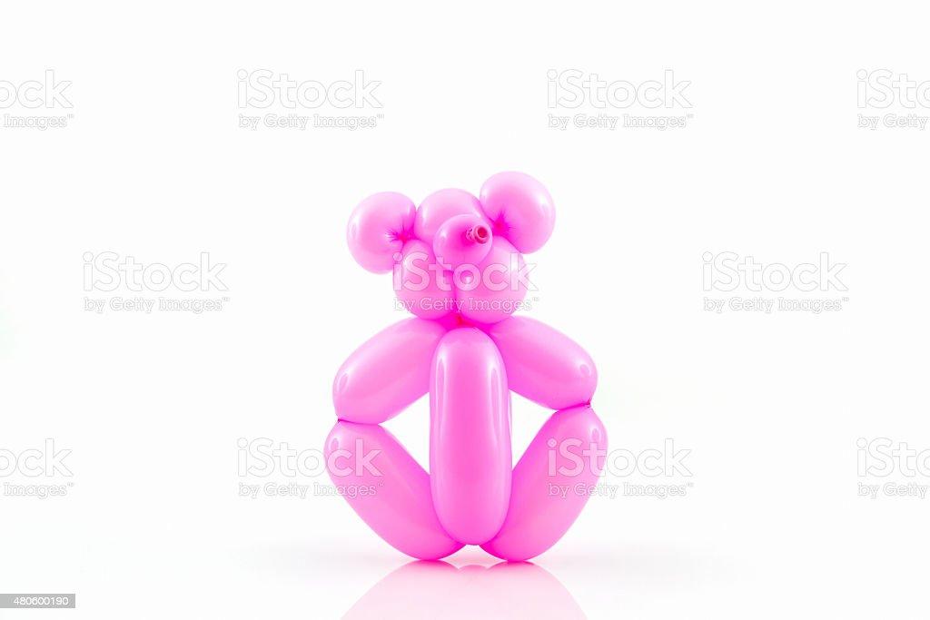 animal de Bexiga de Urso-de-rosa. - foto de acervo