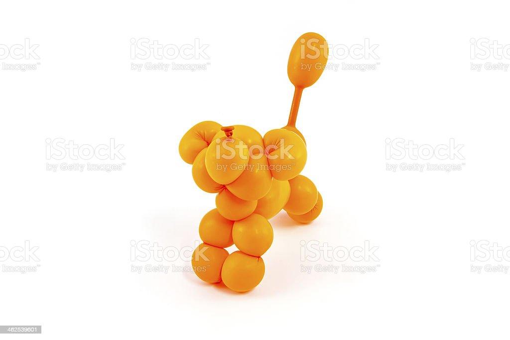 Balloon animal. stock photo