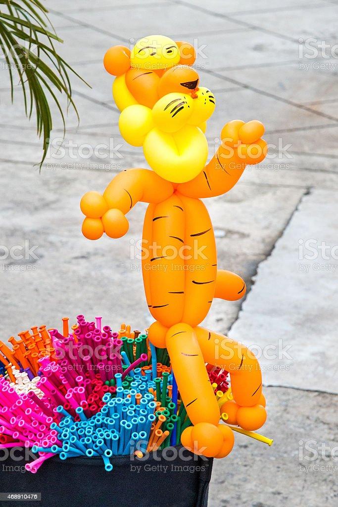 Balloon animals stock photo