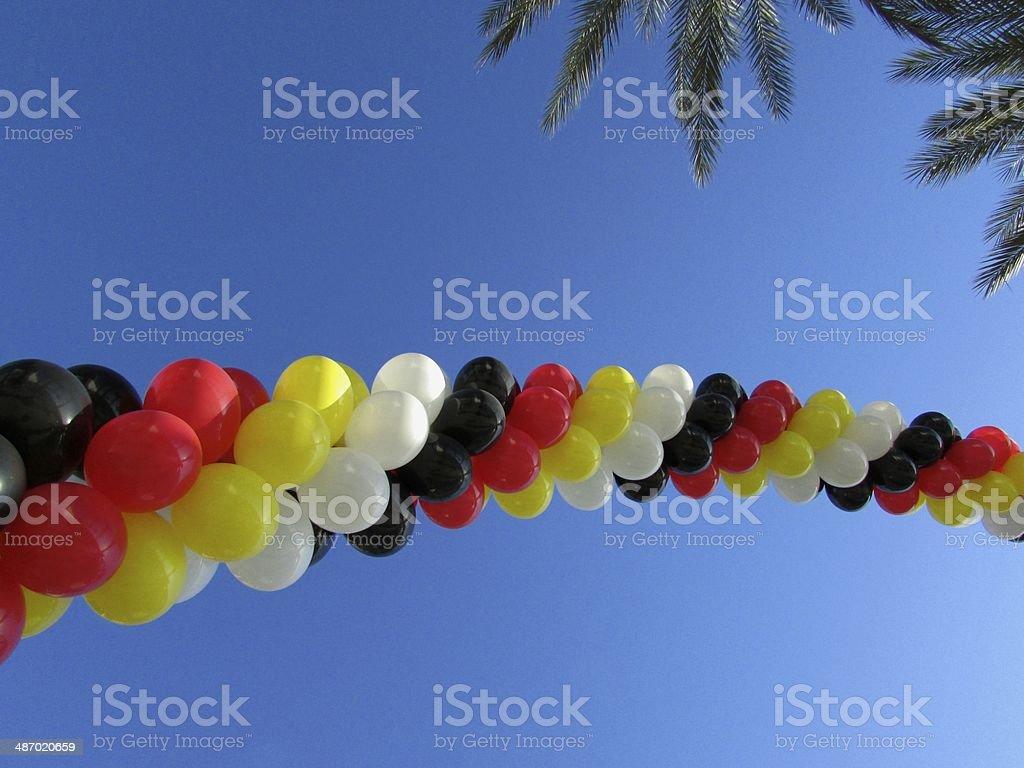 Balloon Arch stock photo