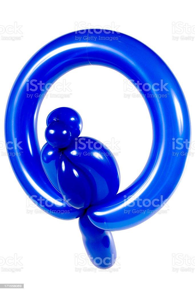 Balloon Bird stock photo
